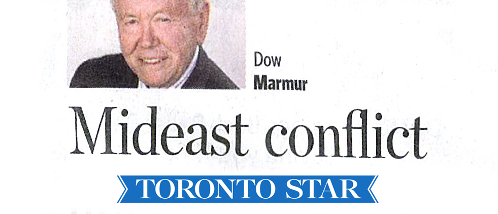 NEWS – TORONTO STAR – JULY21, 2014
