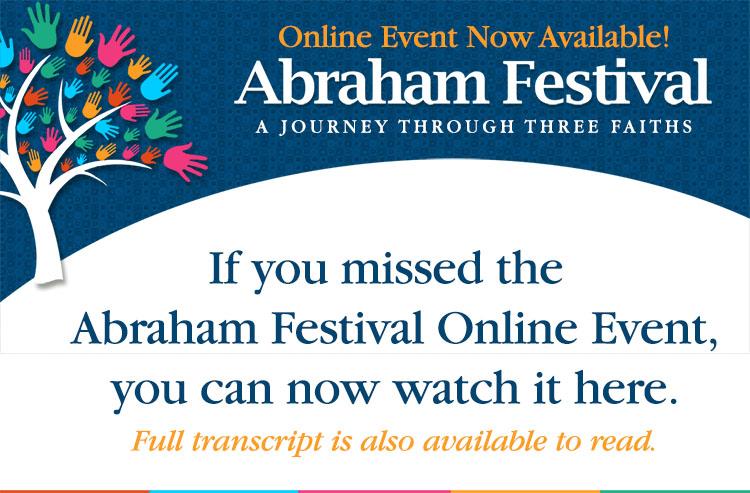 Abraham Festival Interfaith Online Event